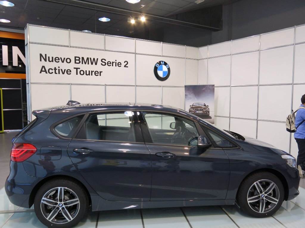 2 Series Active Tourer In Atlantic Grey And Mediterranean Blue
