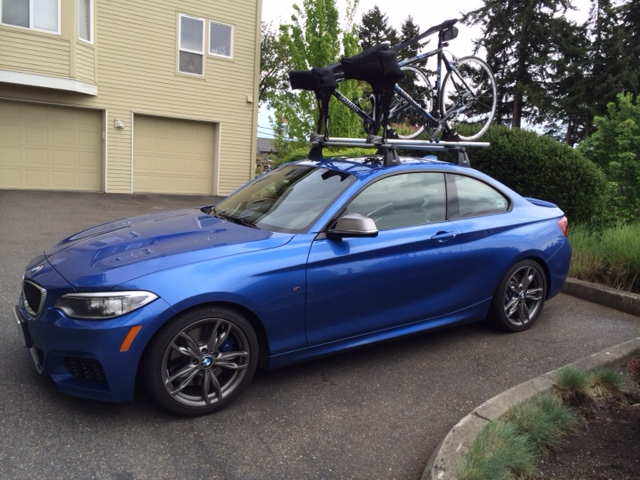 Cyclists Seasucker Talon Vs Bmw Roof Rack