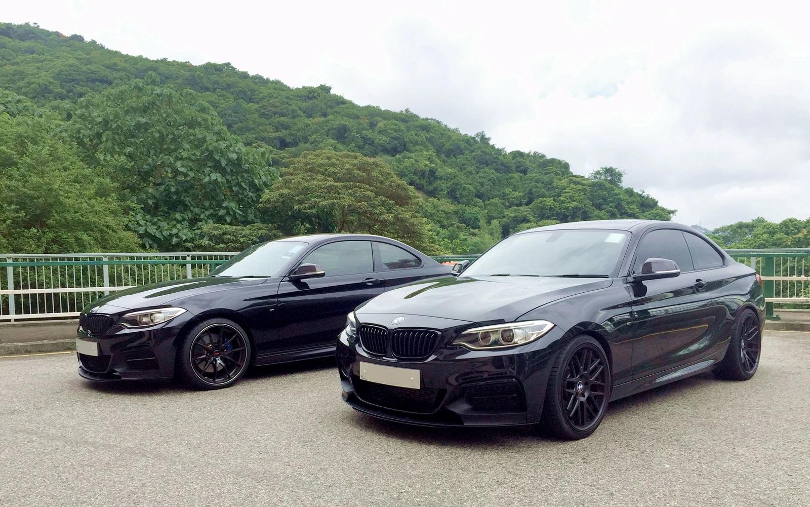 2 Blacked Out M235i Hong Kong
