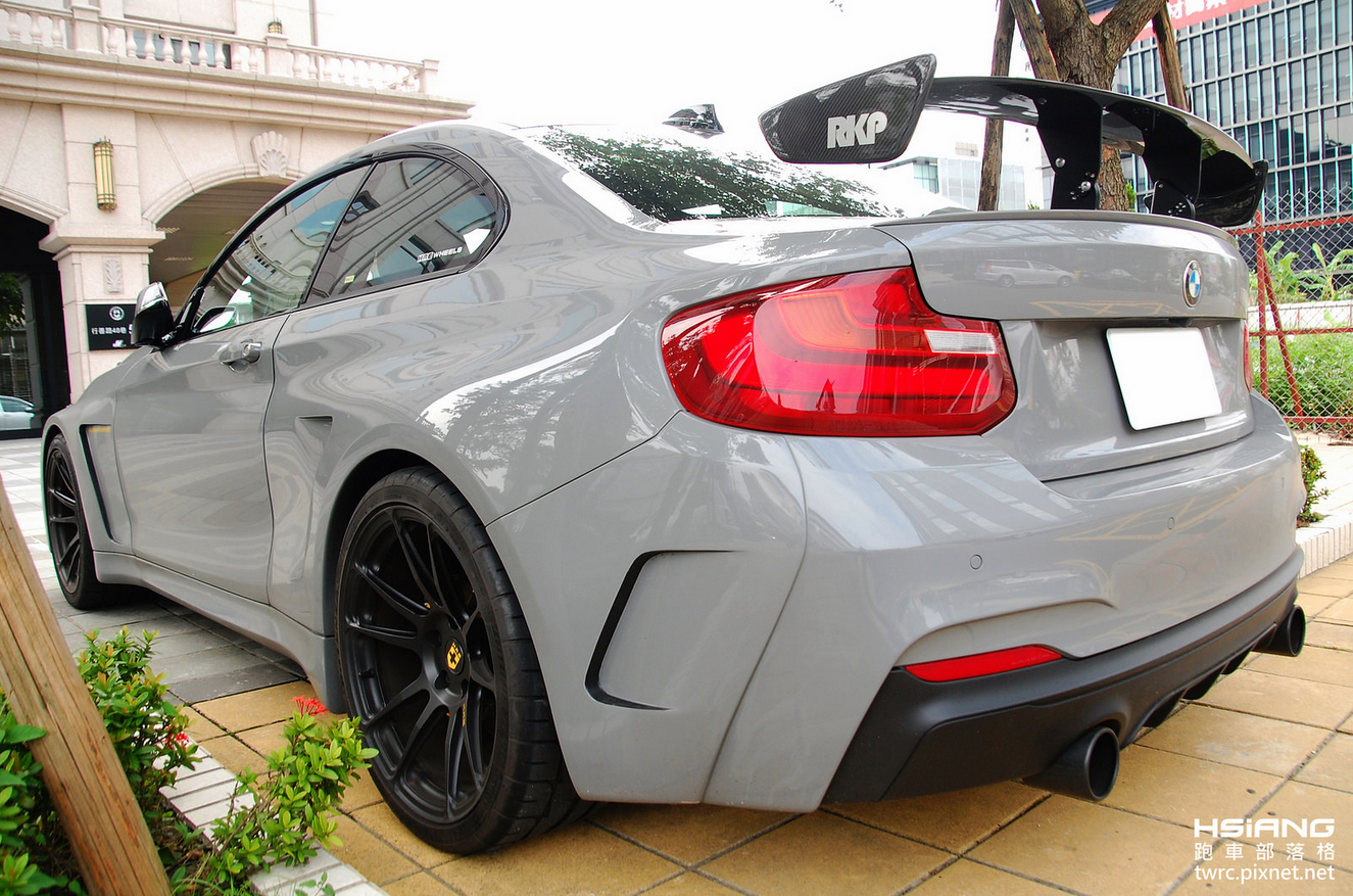 Manhart Widebody Bmw M235i At Hre Taipei
