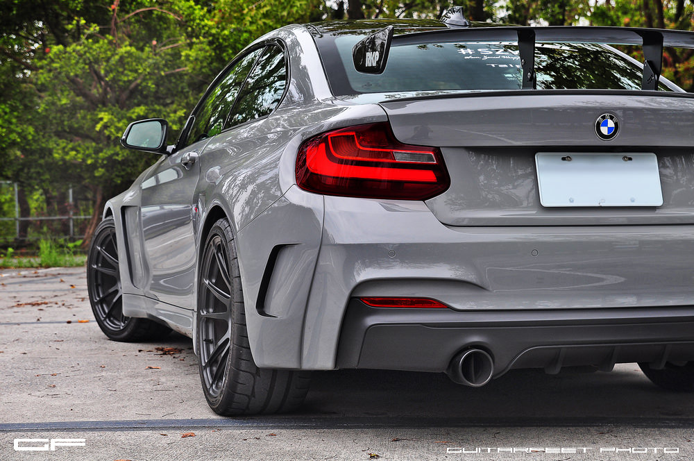 Hre Wheels Manhart Performance Bmw M235i With Hre P44sc