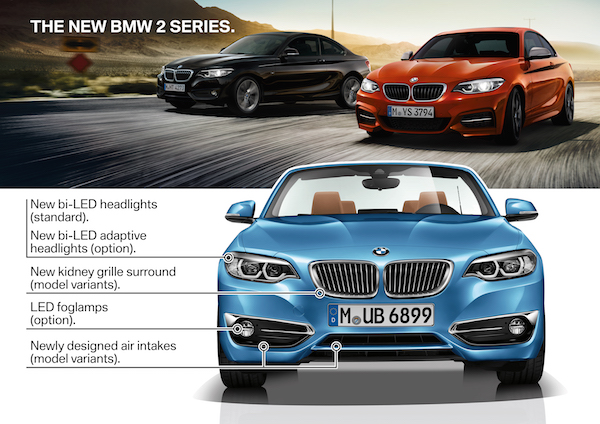 Introducing the BMW 2 Series Coupe and Convertible LCI