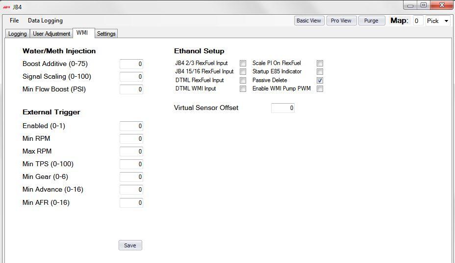 JB4 Interface Updates - Restore Passive Delete Feature (For