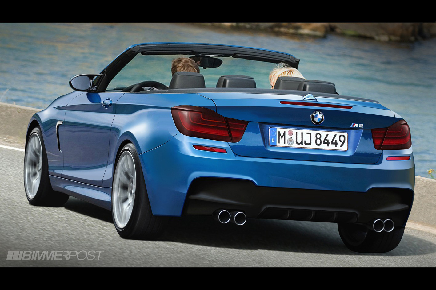 bmw m2 convertible render. Black Bedroom Furniture Sets. Home Design Ideas