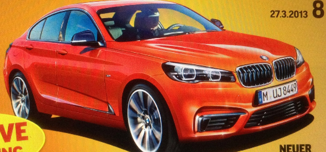 BMW 2 Series Gran Coupe fast tracked for 2015 release