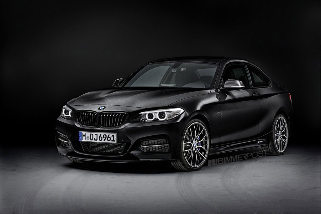 Rendered Bmw 2 Series M Performance Parts In Different