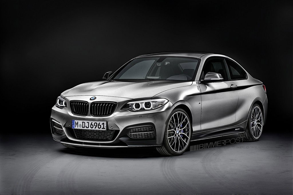 Rendered Bmw 2 Series M Performance Parts In Different Colors As Requested