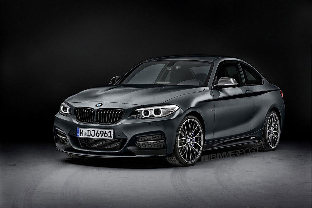Rendered: BMW 2 Series M Performance Parts in different ...
