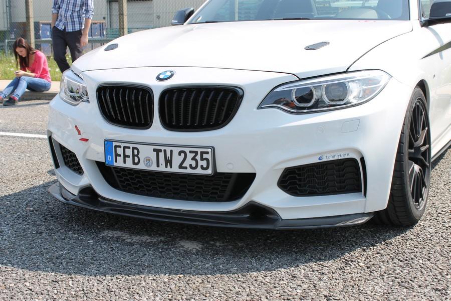 First look and taste of the tuningwerk m235i beast for European motor cars alpharetta
