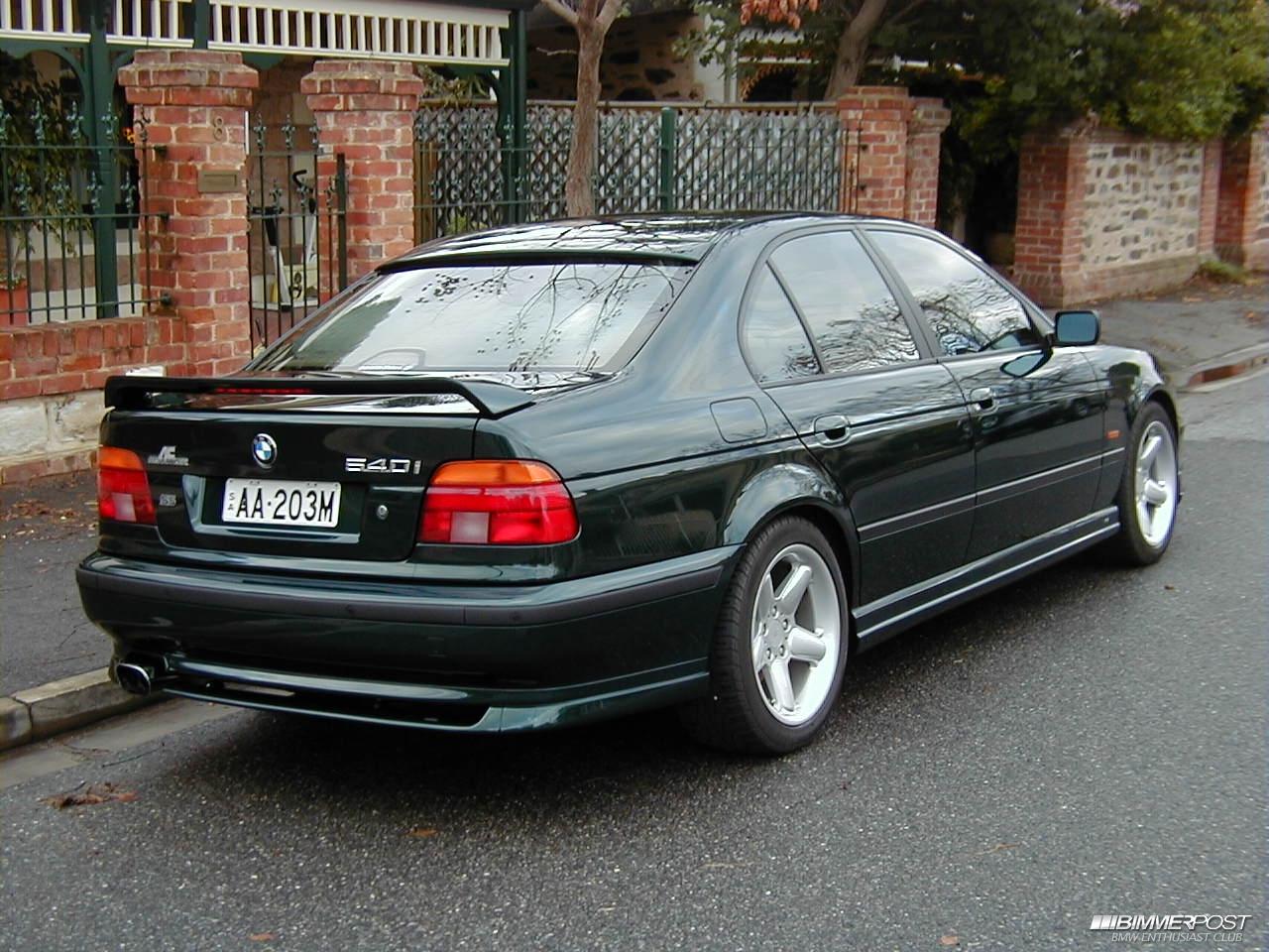 Steveaus U0026 39 S 1998 Bmw E39 540i Schnitzer