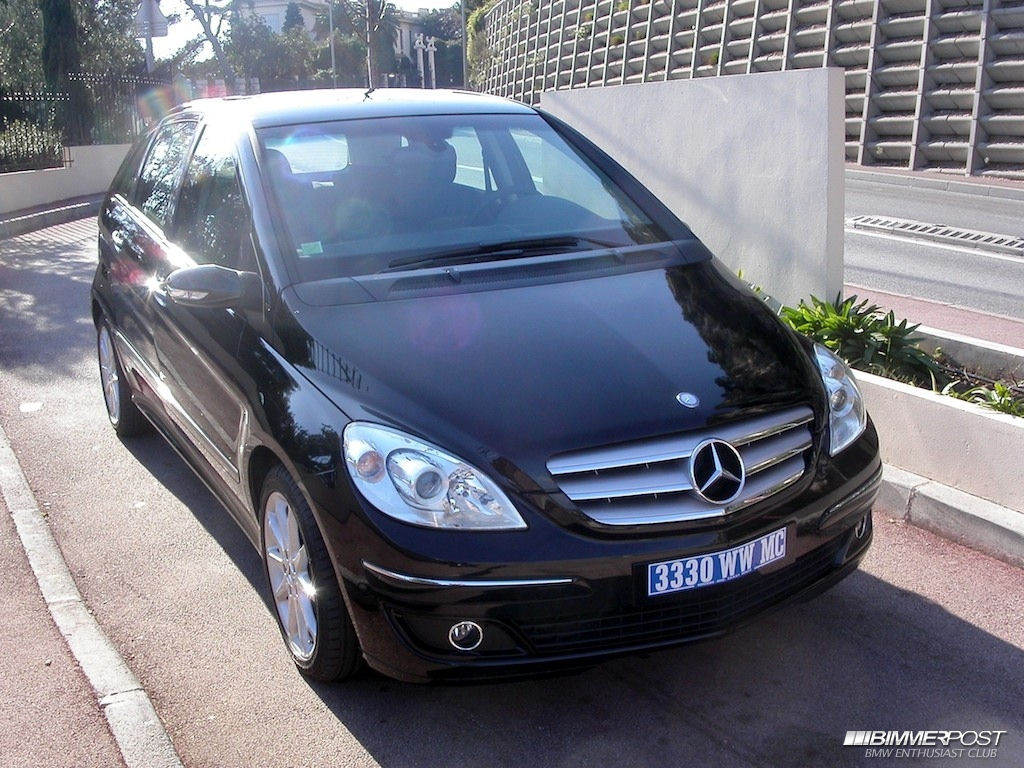 decitre 39 s 2007 mercedes b180 cdi sport bimmerpost garage. Black Bedroom Furniture Sets. Home Design Ideas