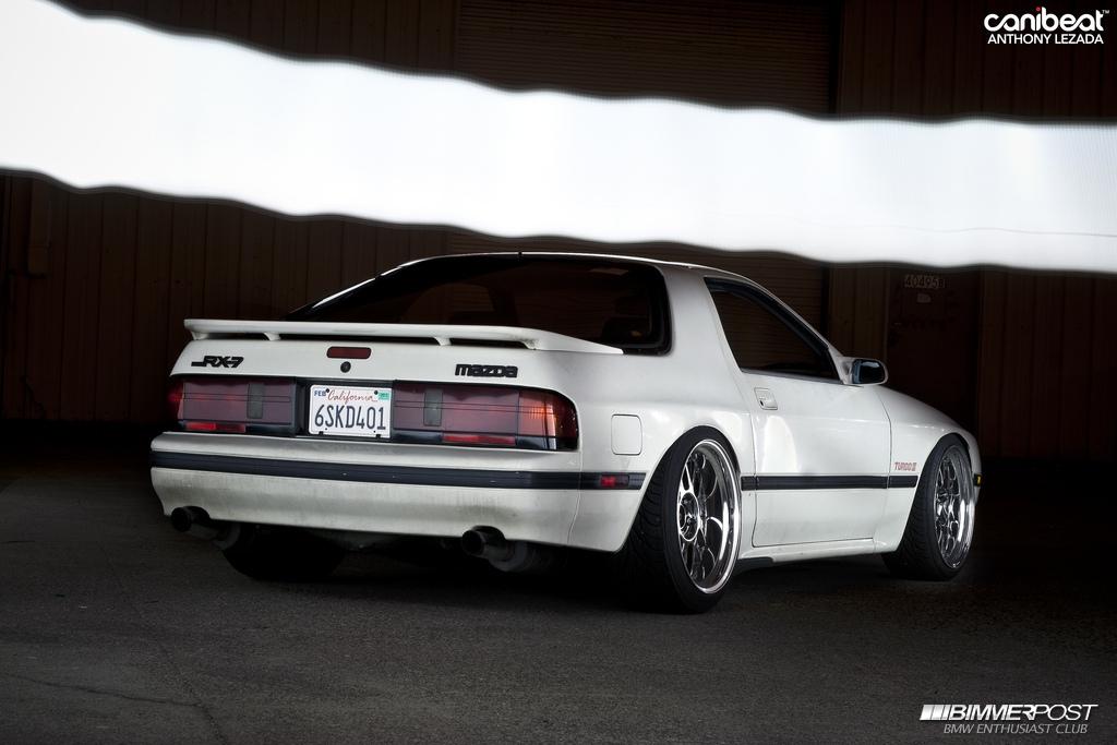 deepfriedbutters 1988 Mazda RX7 Turbo II  BIMMERPOST Garage