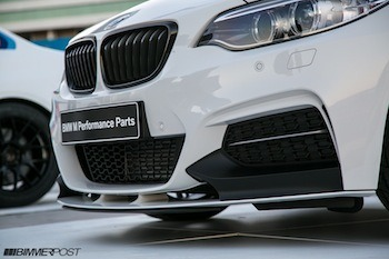BMW M235i M Performance Parts and M235i Racing Car Gallery