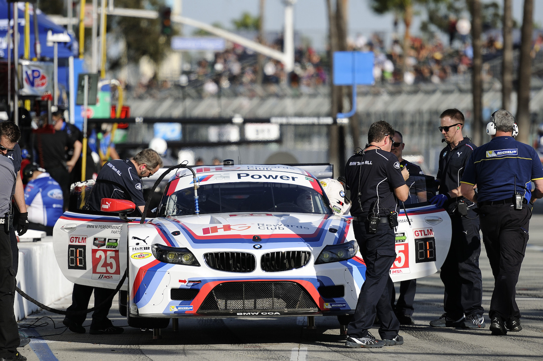 Bmw team rll results from long beach 2015 for Long beach motor sports