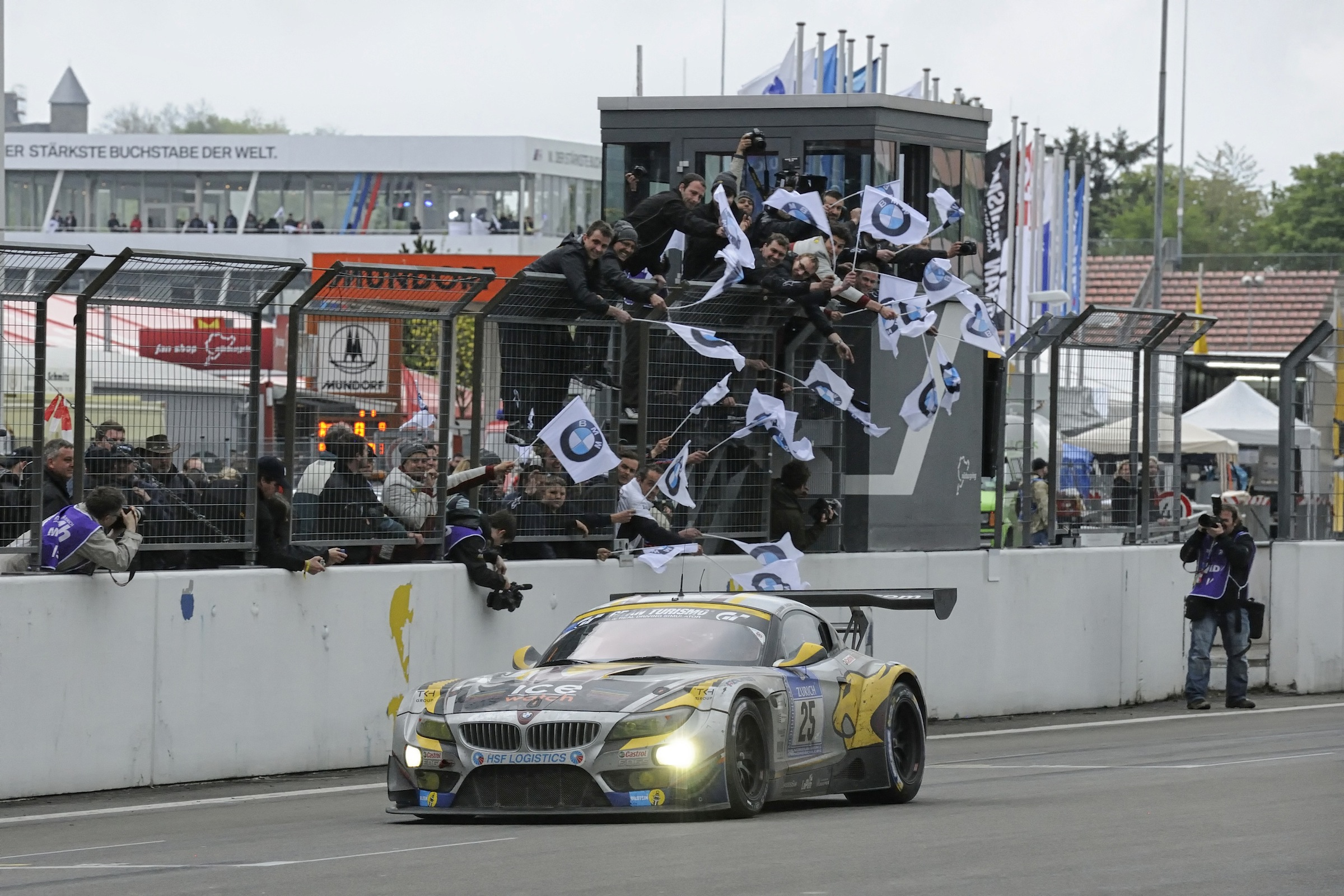 Bmw Z4 Gt3 Takes Second Place At Nurburgring 24 Hours Race